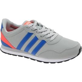 Cinza Sapatos Adidas V Jog K Jr AW4147