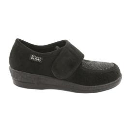 Sapatos femininos Befado pu 984D012 preto