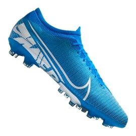 Botas de futebol Nike Vapor 13 Pro AG-Pro M AT7900-414 azul azul