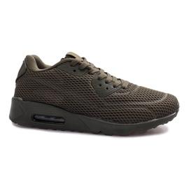 Sapatos de desporto reticulados pretos