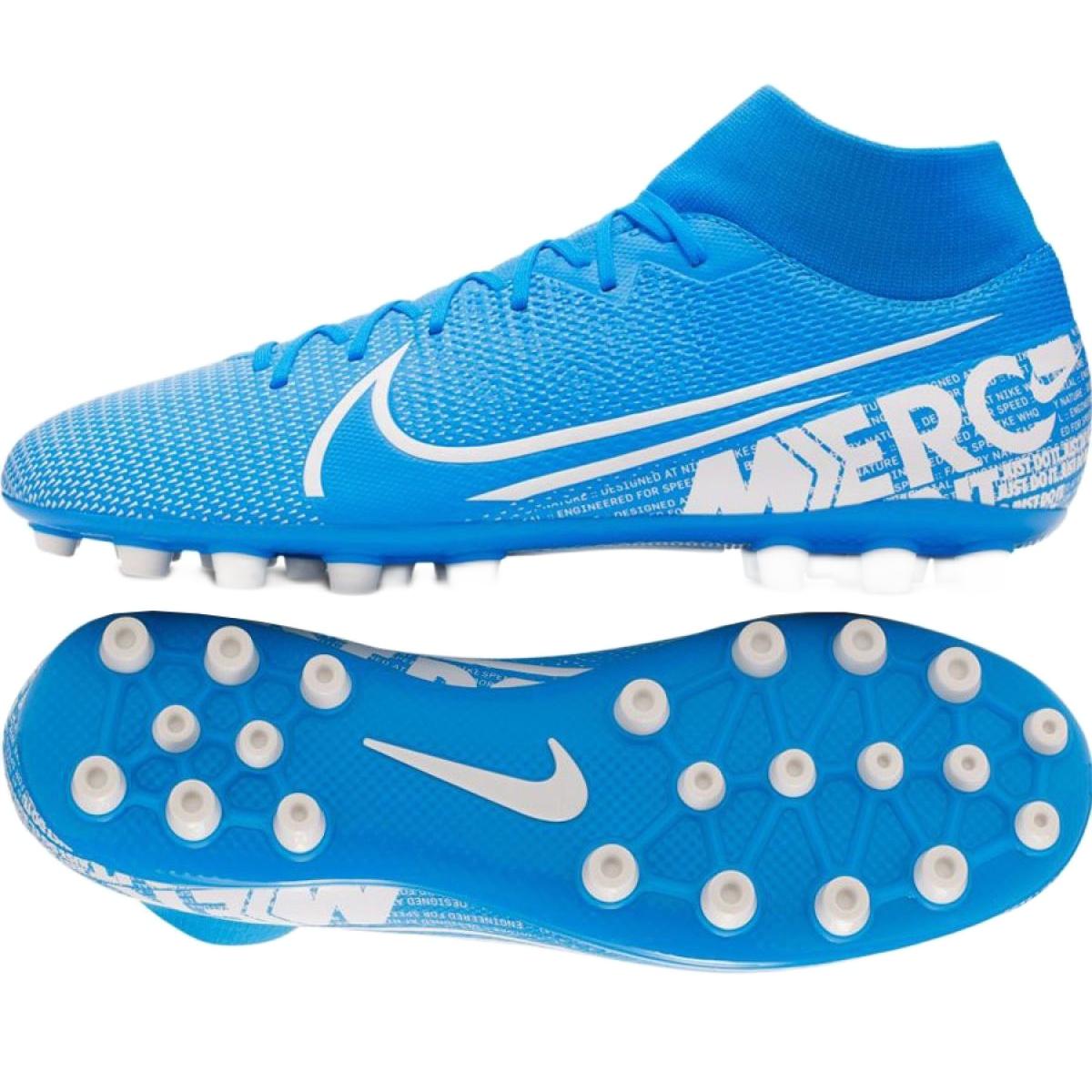 Sapatilhas Nike Mercurial Superfly 7 Academia Ag M BQ5424 414 azul azul