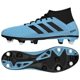 Chuteiras de futebol adidas Predator 19.3 Sg M EF8033 azul azul