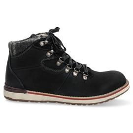 Sapatos isolados de botas altas SH23 Preto