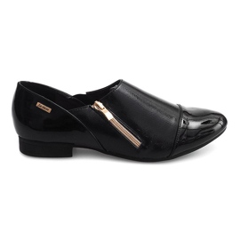 Sapatos Clássicos Slip-on TL1246 Preto