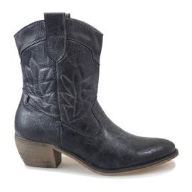 Botas de Cowboy azul 10601-1