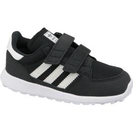 Preto Sapatos Adidas Originals Forest Grove Cf Jr B37749