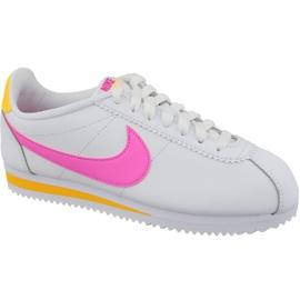 Nike Classic Cortez Couro W 807471-112 branco