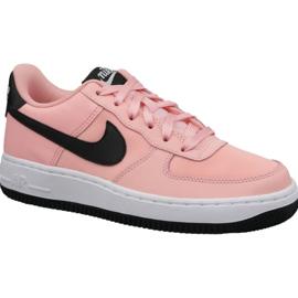 Sapatos Nike Air Force 1 VDay Gs W BQ6980-600 -de-rosa