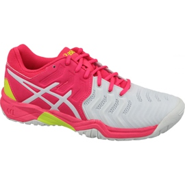 Tênis Tênis Asics Gel-Resolution 7 Gs Jr C700Y-116 -de-rosa