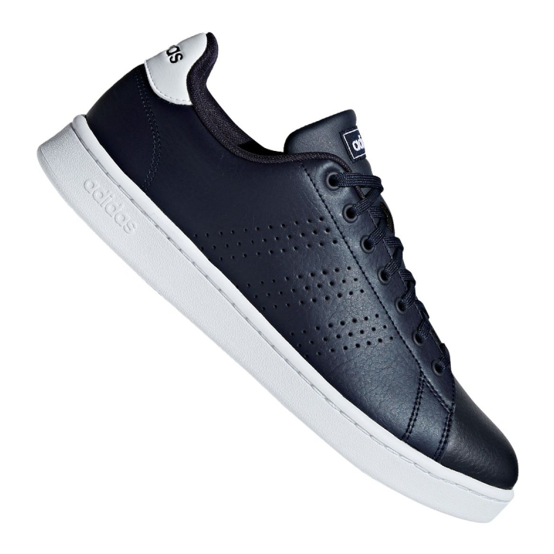 Tênis Adidas Advantage Masculino Branco e Azul | Zattini