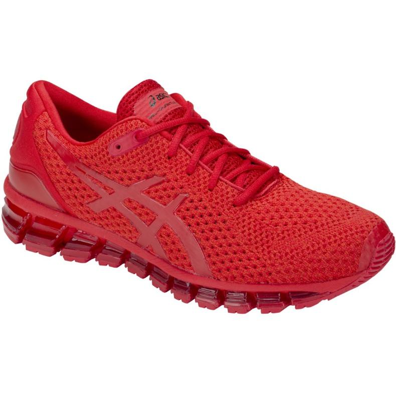 Tênis de corrida Asics Gel-Quantum 360 Knit 2 M T840N-602 vermelho