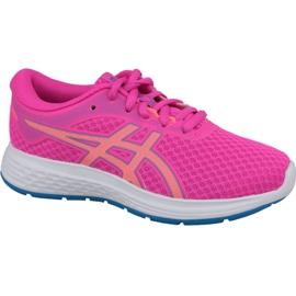-de-rosa Tênis de corrida Asics Patriot 11 Gs Jr 1014A070-700
