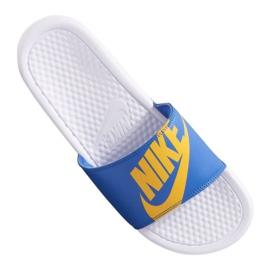Azul Nike Benassi Jdi Print 631261-104 chinelos