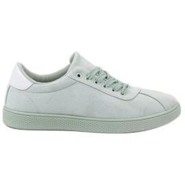 Ideal Shoes Sapatinhos Menta verde