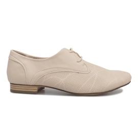 Marrom Sapatos bege Jazz Simone