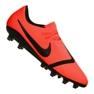 Sapatilhas de futebol Nike Phantom Vnm Pro AG-Pro M AO0574-600 laranja laranja