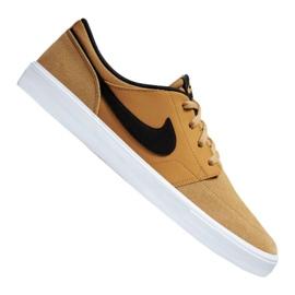 Marrom Sapatos Nike Sb Solarsoft Portmore Ii M 880266-700