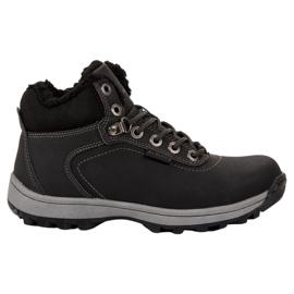 Ax Boxing Sapatos de Trekking Isolados preto