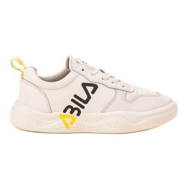 Ax Boxing branco Sapatos Esportivos Elegantes