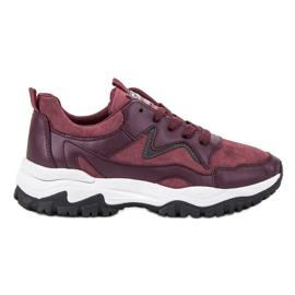 Ax Boxing vermelho Marrom Sport Shoes