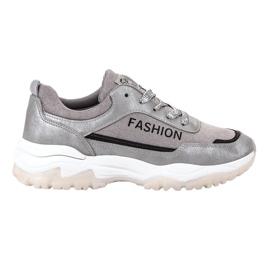 Ax Boxing Calçados Esportivos de Moda cinza