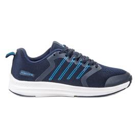 Ax Boxing azul Sapatos Desportivos Leves