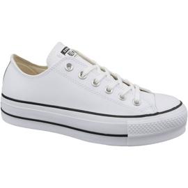 Branco Chuck Converse All Star Levante Boi Limpo W 561680C