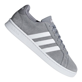 Cinza Sapatos Adidas Grand Court M F36412
