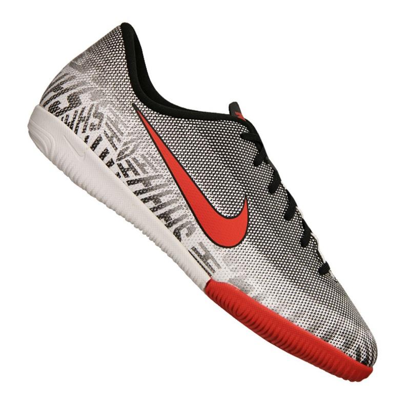Sapatos de interior Nike Jr Vapor 12 Academia Gs Njr Ic Jr AO9474-170 cinza cinza / prata