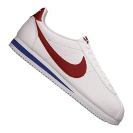 Branco Sapatos Nike Classic Cortez Leather M 749571-154