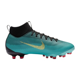 Sapatilhas Nike Mercurial Superfly 6 Academia Gs CR7 Mg Jr AJ3111-390 azul
