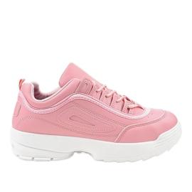 -de-rosa Sapatilhas de calçado desportivo rosa GL808