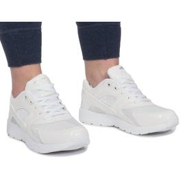 LD34B-3 Calçado Esportivo Branco