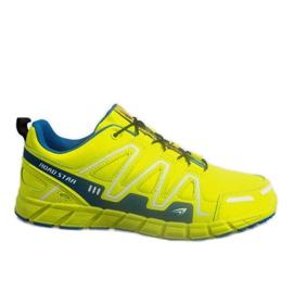 Amarelo Sapatilhas Esportivas RS82716-4M GREEN / BLUE