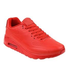 Calçado desportivo de homem vermelho