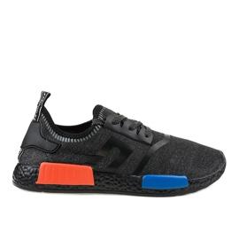 Calçado desportivo preto MD01A-6