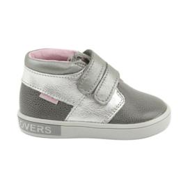Velcro sapatos Mazurek 1355 cinza