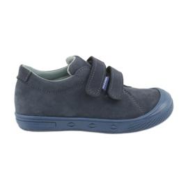 Marinha Sapatos para menino Mazurek 1267 azul marinho