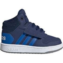 Marinha Adidas Hoops Mid 2.0 EE6714 calçado para criança