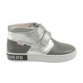 Mazurek Botas de prata cinza FashionLovers