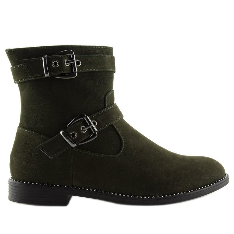 Sapatos Flat Verde MB188-266 Verde