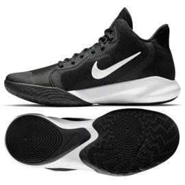Nike Precision Iii M AQ7495 002 tênis de basquete preto
