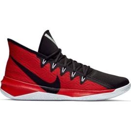 Nike Zoom Evidence Iii M AJ5904 001 sapatos preto e vermelho preto, vermelho