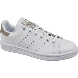Branco Sapatos Adidas Stan Smith Jr DB1200