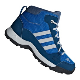 Azul Sapatos Adidas Hyperhiker K Jr G27790