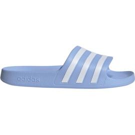 Azul Adidas Adilette Aqua W EE7346 chinelos