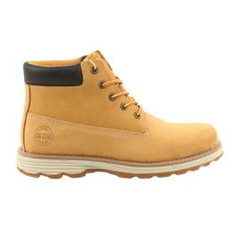 Big Star amarelo Trekking calçado desportivo