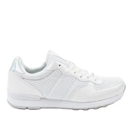 Calçado desportivo para homem branco 5535A-1
