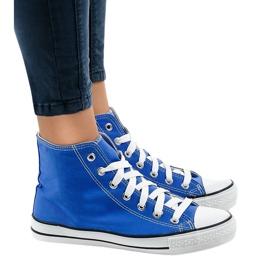 Sapatilhas altas clássicas azuis DTS8222-14 azul