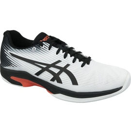 Asics Solution Speed ​​Ff Indoor M 1041A110-102 tênis branco